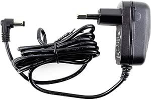 MyVolts Cargador 9V Compatible con Teclado Casio CTK-450 (Fuente de alimentación) - Enchufe español