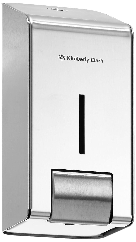KIMBERLY-CLARK PROFESSIONAL* Dispensador de Gel de Manos (código 8973) - Acero inoxidable, 1 L: Amazon.es: Industria, empresas y ciencia