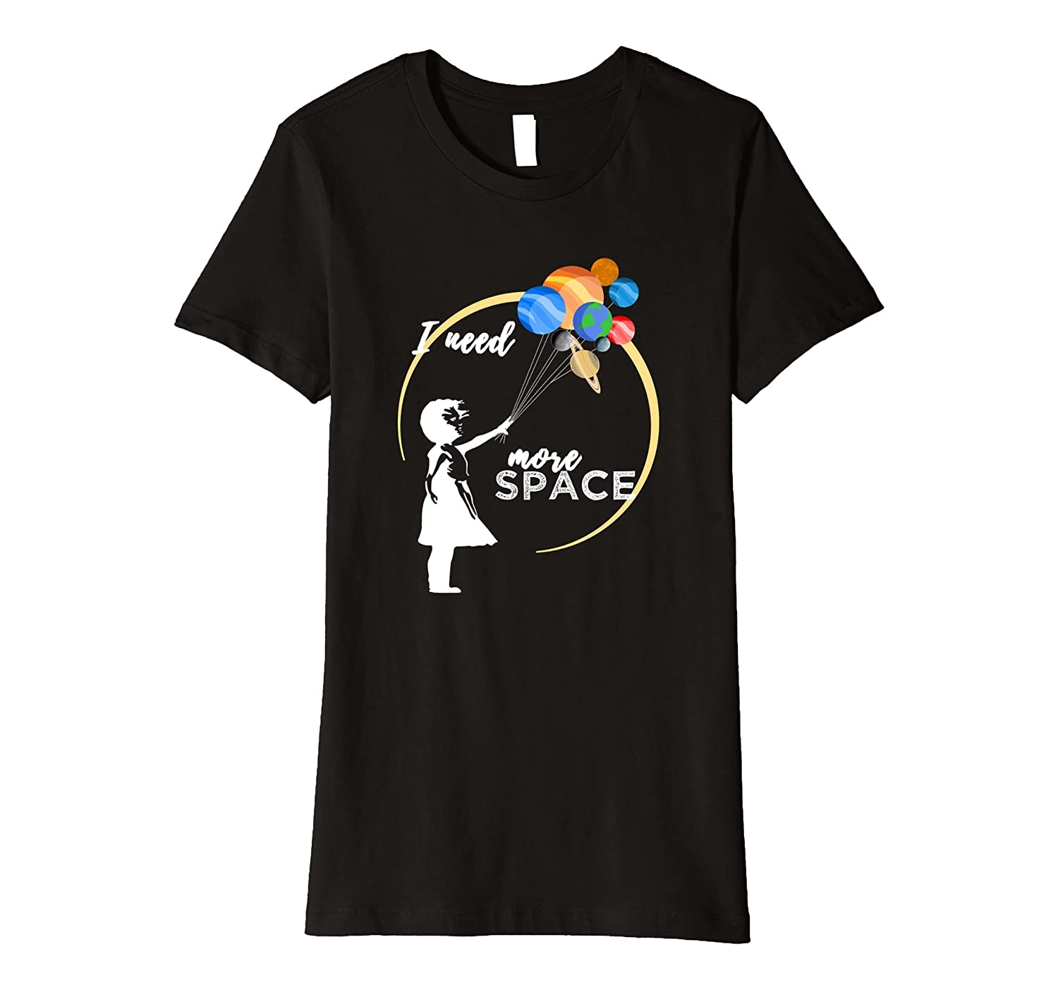 Solar system funny t-shirt I need more space tee