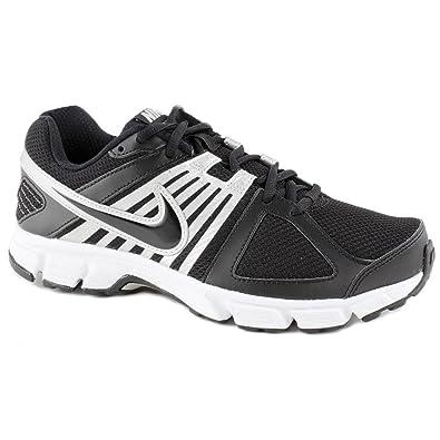 6d781edd602 Nike Mens Downshifter 5 Black Grey Running Trainers Size 12  Amazon ...