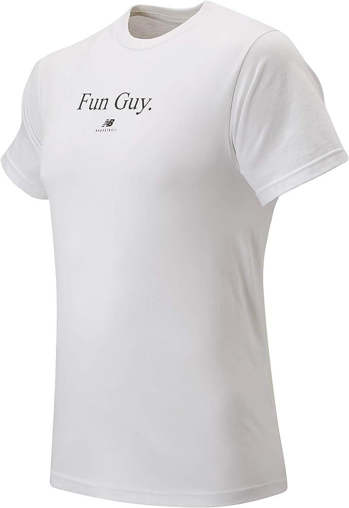 tee shirt new balance blanc homme