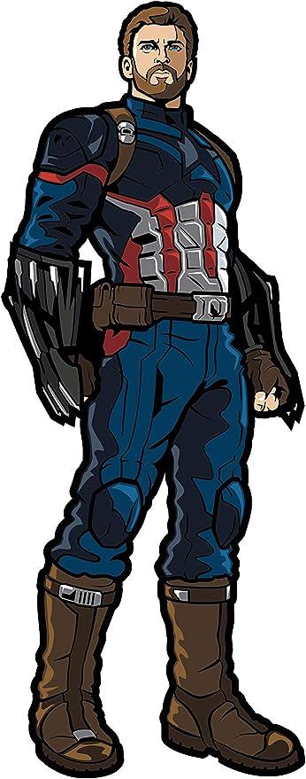 "FiGPiN Marvel Avengers Infinity War CAPTAIN AMERICA 3/"" Enamel Pin #138"