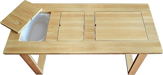 buelabuela Mesa sensorial de 3 Puestos: Amazon.es: Juguetes y juegos