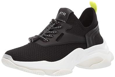 6e4ffffa8d2 Steve Madden Women s Myles Sneaker Black 5.5 M US