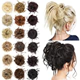 AISI BEAUTY Tousled Updo Hair Pieces Messy Bun Hair Scrunchies Extensions Hair Pieces and Ponytails Hair Extensions for…