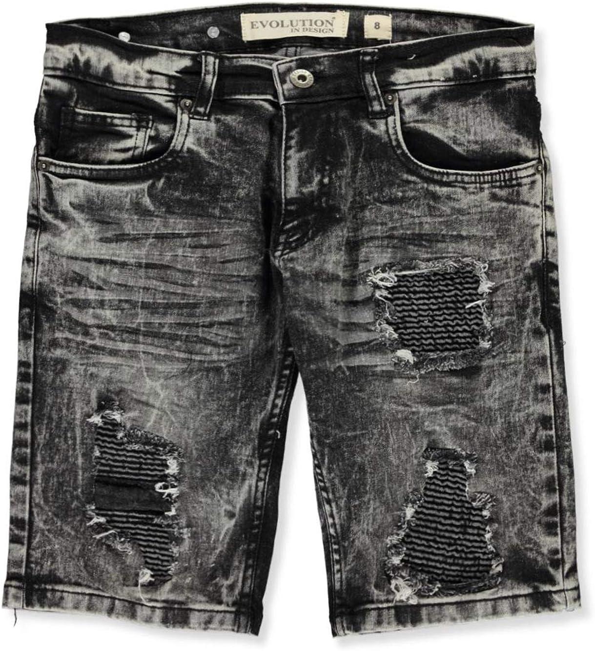 Evolution in Design Boys Rip N Repair Denim Shorts