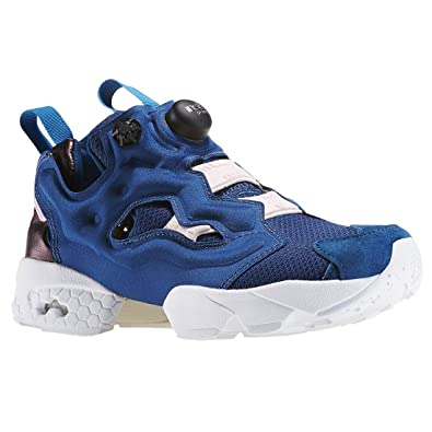 550a34b0e Reebok Instapump Fury Face Women s Shoes Fancy Dramatic Ambition Blue  ar2650 (5.5