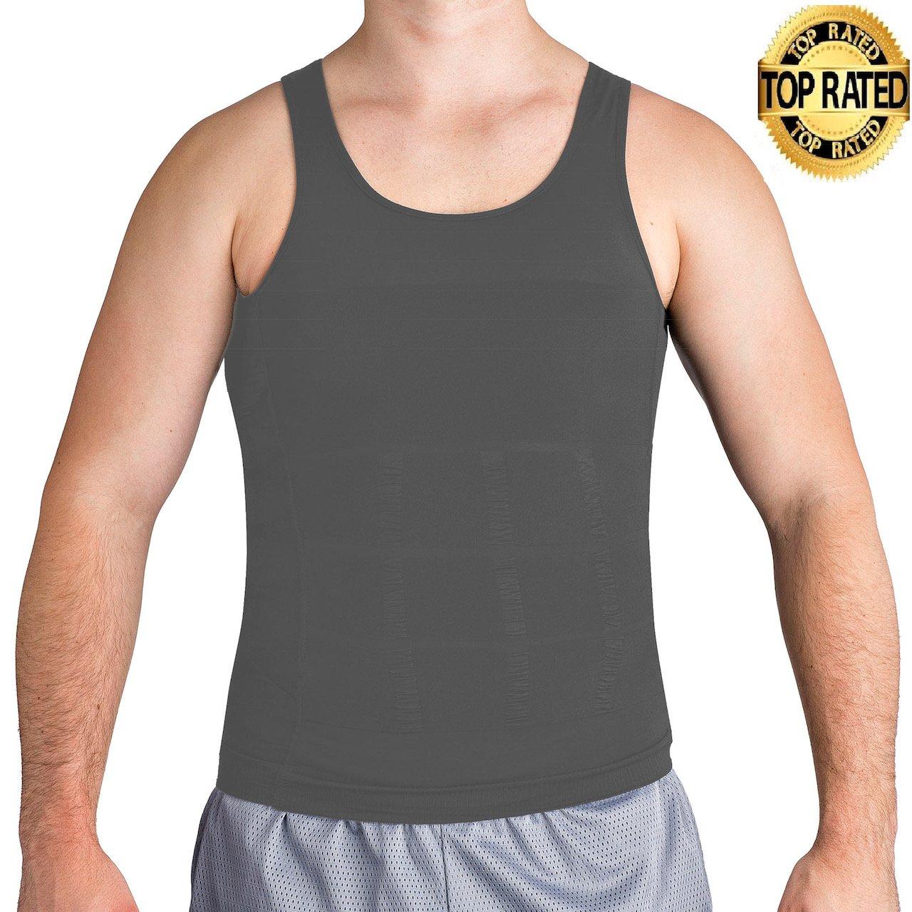 ROC Bodywear Men's Slimming Body Shaper Compression