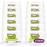 Boogie Wipes, Unscented Wet Wipes for Baby and Kids, Nose, Face, Hand and Body, Soft and Sensitive Tissue Made with…