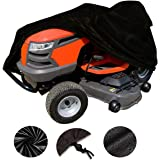 VVHOOY Waterproof Lawn Tractor Mower Cover,54inch 210D Oxford Heavy Duty Riding Lawn Mower Cover,Universal Fit Toro, Craftsman, Honda, Husqvarna, John Deere,Cub Cadet,Greenworks More