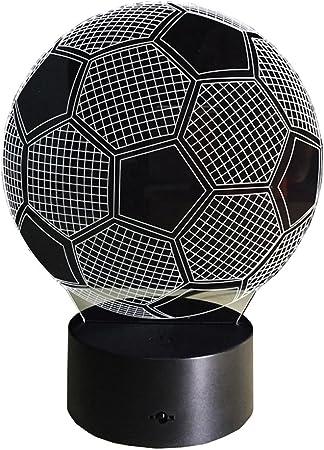 Siete Colores 3d Visual de fútbol de balón de fútbol que cambia de ...