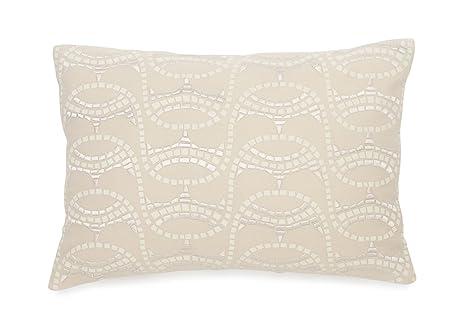Amazon BiniChic Terracotta Embroidered Mosaic Decorative Pillow Inspiration Terracotta Decorative Pillows