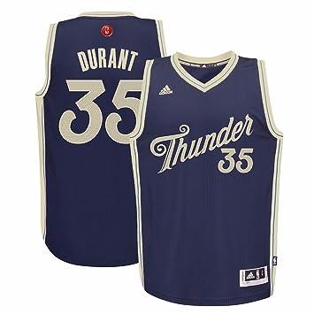 16765b922 adidas Russell Westbrook  0 Oklahoma City Thunder NBA Blue 2015 Christmas  Swingman Adult Jersey