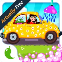 Amazing Car Wash Game For Girls – Cars washing beauty spa salon for little princesses