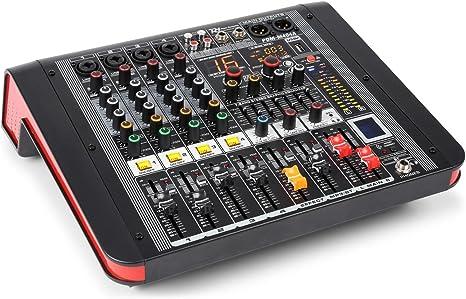 Power Dynamics PDM-M404A Mesa de mezclas 4 entradas para micrófono ...