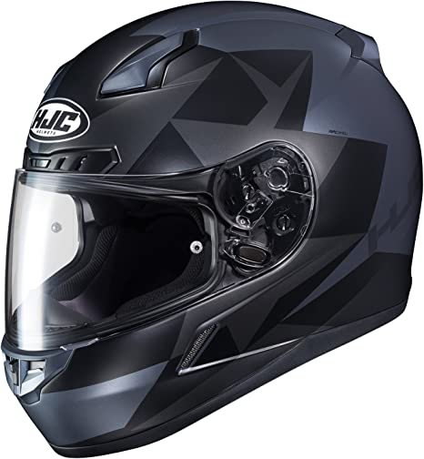 HJC Helmets Unisex-Adult Full-face Style CL-17 Boost Snow Helmet with Electric Shield Black//Red X-Large