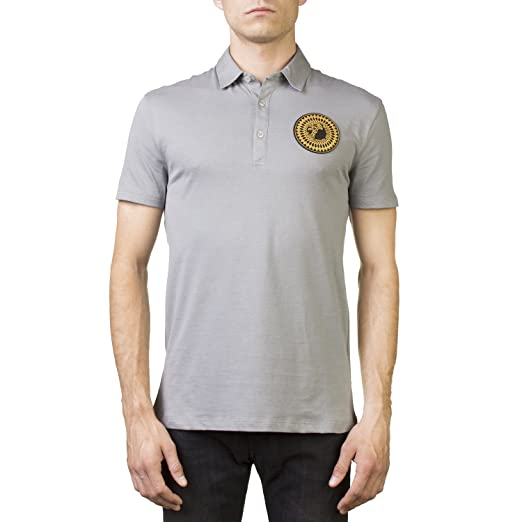 Versace Collection Polo - para Hombre Gris Gris Small(UK)/Small(IT ...