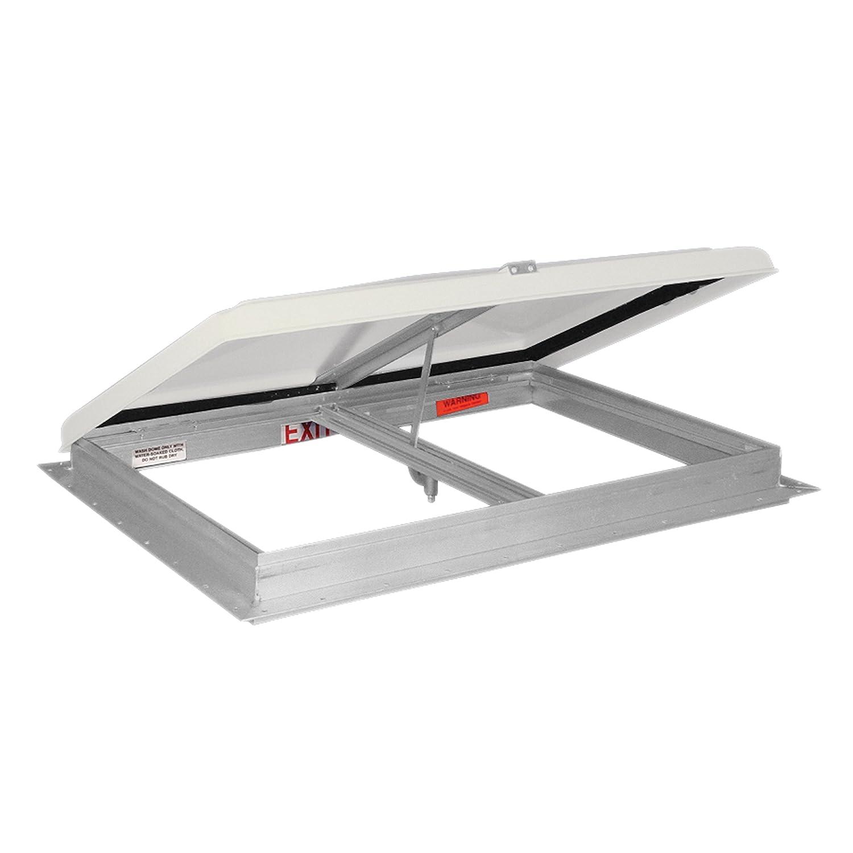 26 x 26 Hengs 0503.1002 68631-C2 Escape Hatch//Exit Vent with Aluminum Frame