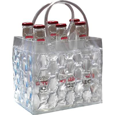 Chill It 6 Clear- Freezable Chill It 6-Pack Bag : Picnic Basket Accessories : Garden & Outdoor