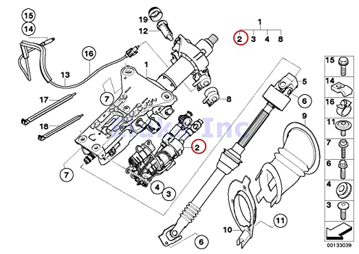 Amazon Com Bmw Genuine Adjustment Motor For Electric Steering