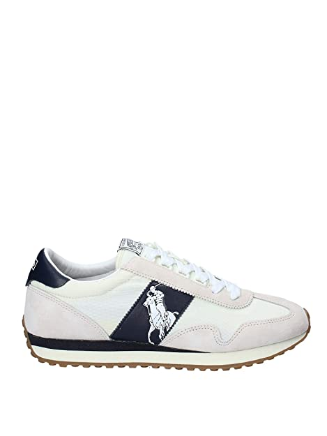 Polo sport 809755192003 Zapatos Hombre Blanco 45: Amazon.es ...
