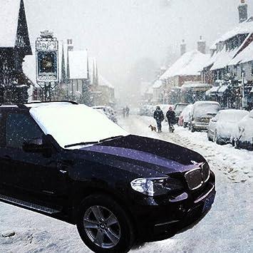 SUV ghiaccio e sole con usare tutto lanno anche in estate come parasole. Boonor 160 X 118 cm Telo copriparabrezza auto anti neve