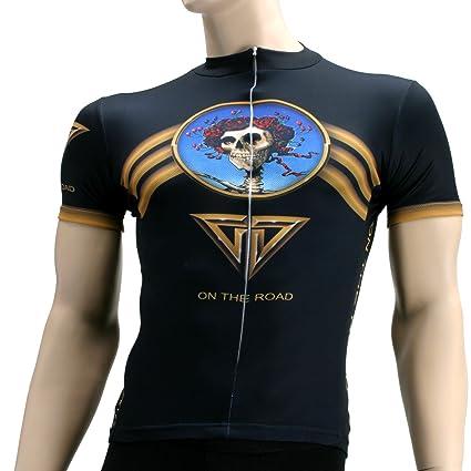 Primal Wear Grateful Dead On The Road Cycling Jersey Men s Short Sleeve d1bae4236