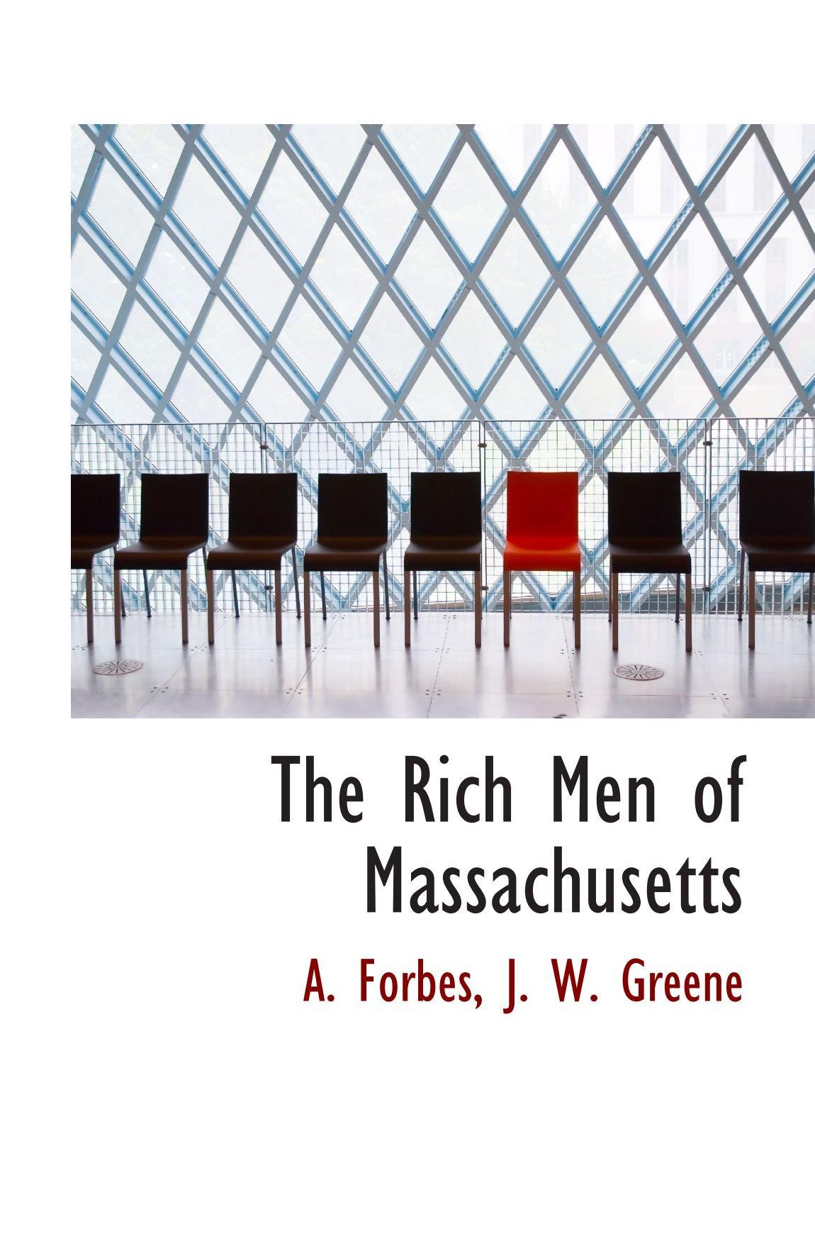 The Rich Men of Massachusetts pdf epub