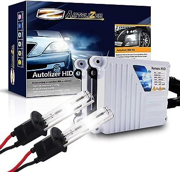 Lumenon 55w HID Kit 2 Year Warranty 9007 HB5, 5000K Pure White
