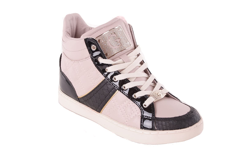 GUESS Señoras Botas con Cordones Sneaker 35 EU|Nude