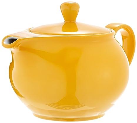 Kahla 571401A72767C Pronto - Tetera (porcelana, 0,9 L), color amarillo