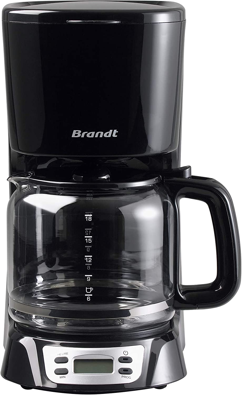 Brandt CAF1318E - Cafetera (Goteo, Independiente, Negro, 1000 W ...