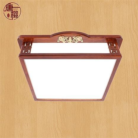 Leihongthebox China no lámparas de techo las luces led de polaridad de madera maciza de acrílico