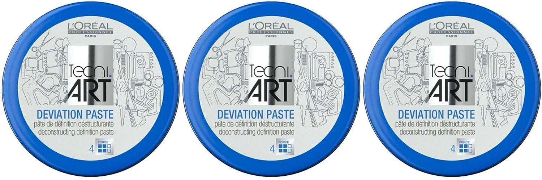 Loreal Deviation pasta 3X 100ML Styling di Crème tecni. art (successore di Play Ball)