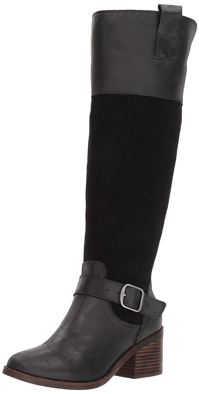 [Lucky Brand] Womens Kailan Leather Closed Toe Knee High Fashion Boots [並行輸入品] B071F3X3P8 6 B(M) US|ブラック ブラック 6 B(M) US