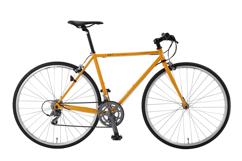 Artcyclestudio(アートサイクルスタジオ) クロスバイク f550 B01BR4EUYYオレンジ 500