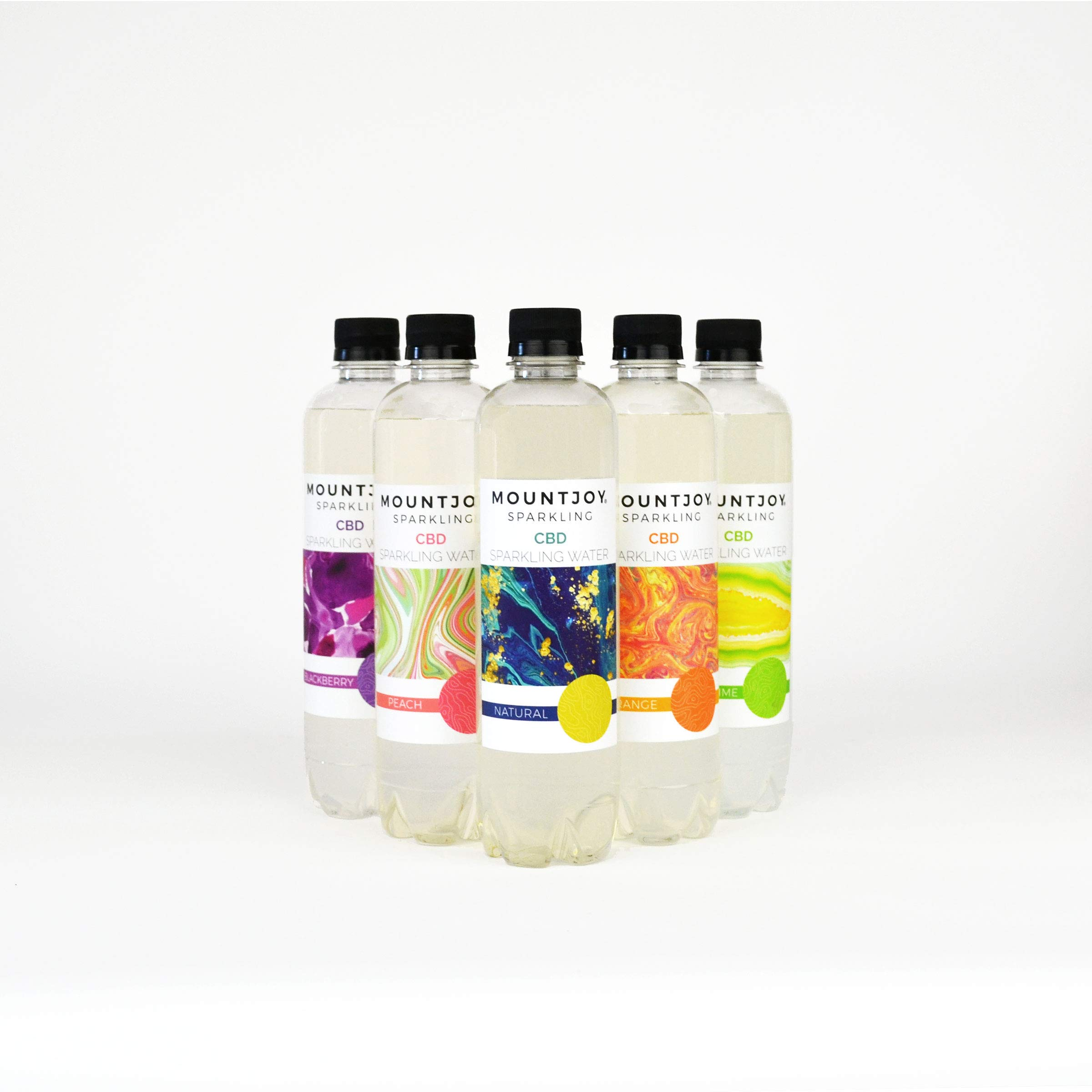 Mountjoy Sparkling CEE-BEE-DEE Assorted Flavors - 16 oz - 6 Pack by Mountjoy Sparkling