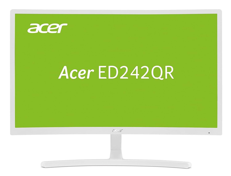Acer ED242QR LED Display 59,9 cm (23.6') Full HD Incurvé Mat Blanc - Écrans Plats de PC (59,9 cm (23.6'), 1920 x 1080 Pixels, Full HD, LED, 4 ms, Blanc) 9 cm (23.6) Full HD Incurvé Mat Blanc - Écrans Plats de PC (59 UM.UE2EE.001