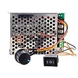 XCSOURCE Modulo DC regolatore di velocitš€ 10-50V 40A PWM di velocitš€ del motore Scheda Regolatore con CW / CCW interruttore di regolazione del potenziometro TE 535