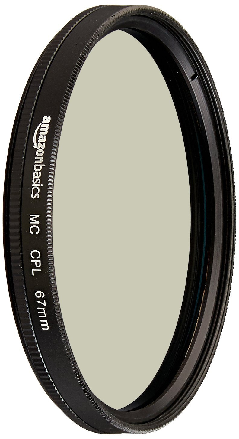 AmazonBasics Circular Polarizer Lens - 67 mm