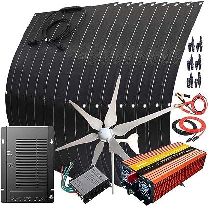 Giosolar Wind Solar Generator Kit
