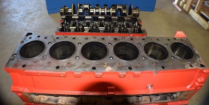 Amazon com : CUMMINS ISX ENGINE BLOCK 3683264 HEAD 4101420