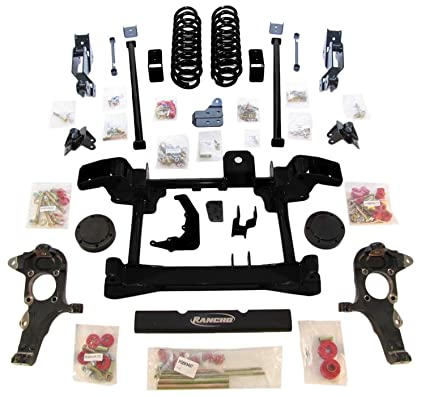 Rancho Lift Kits >> Amazon Com Rancho Suspension Rs6556b Lift Kit Automotive