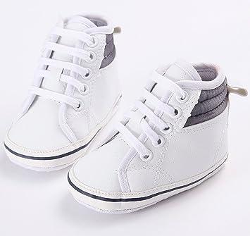 Amazon Com New Arrival White Fashion Pu Leather Handsome Newborn