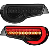 Suitable for Toyota GT86 tail light/subaru BRZ tail light modified full LED production, 2013-2018, internal flow light…