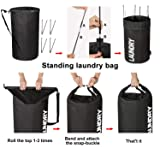 ZERO JET LAG Large Collapsible Laundry Hamper Tall
