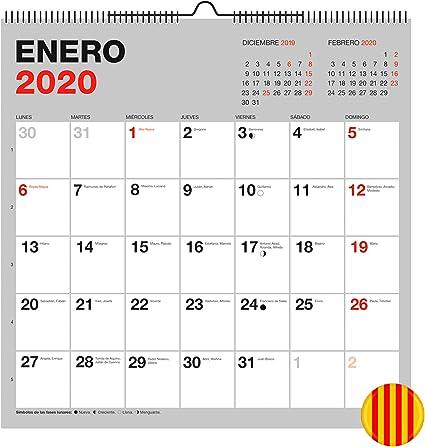 Miquelrius 28334 - Calendario de Pared 300 x 300 mm para escribir ...