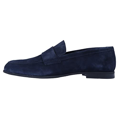 Calvin Klein Collection 0 para Hombre Slip-On Azul, Tamaño:46: Amazon.es: Zapatos y complementos