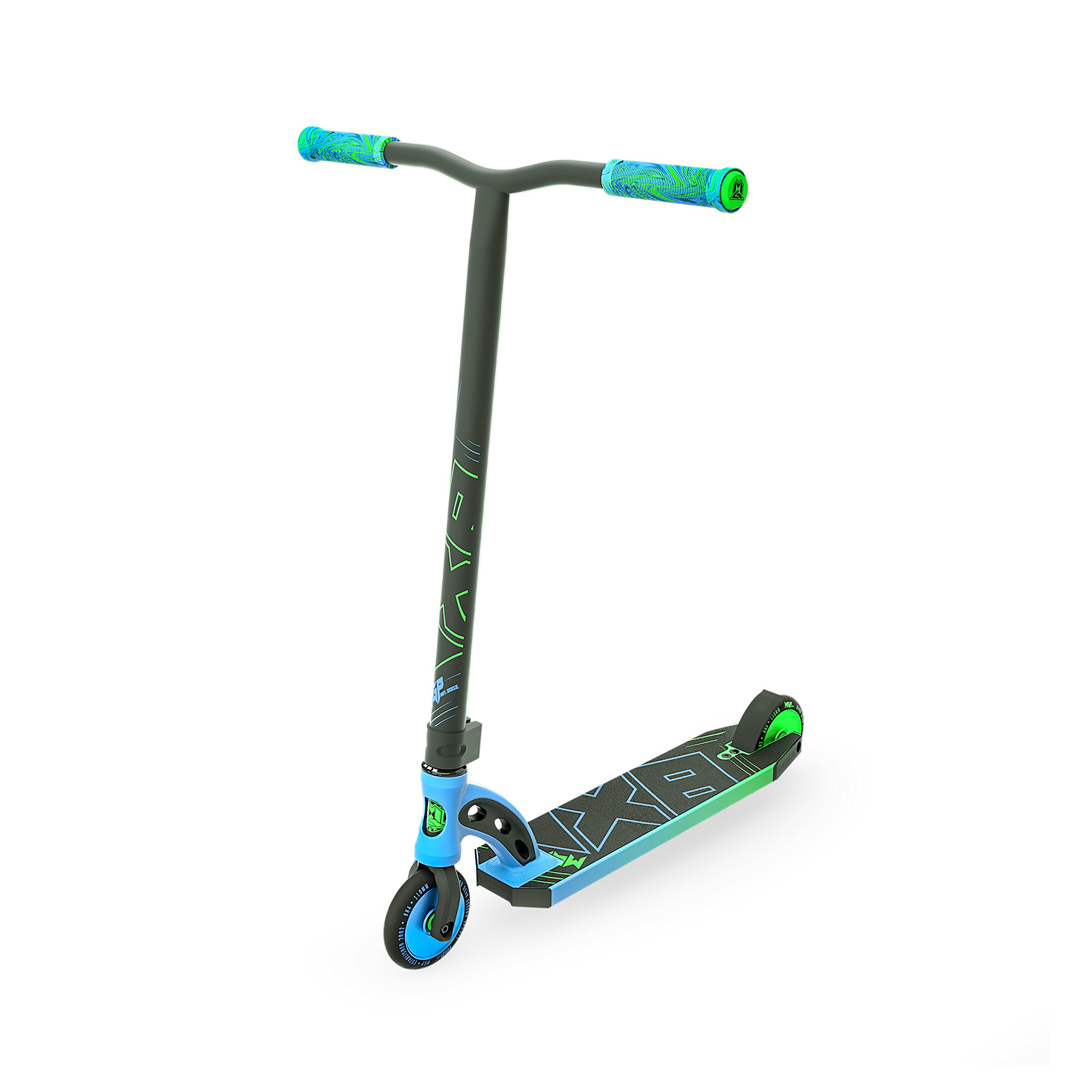 Madd Gear MGP VX8 Freestyle Pro Scooter - Blue/Lime