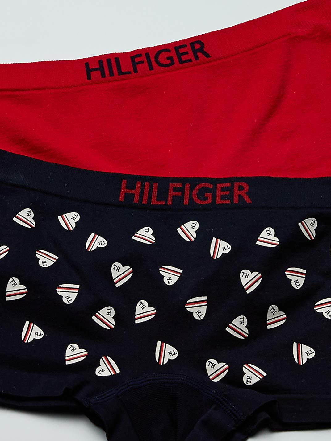 Tommy Hilfiger Womens Seamless Boyshort Underwear Panty Multipack